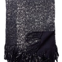 "Nordstrom Rack | Metallic Foil Brushed Throw - 50"" x 60"" 