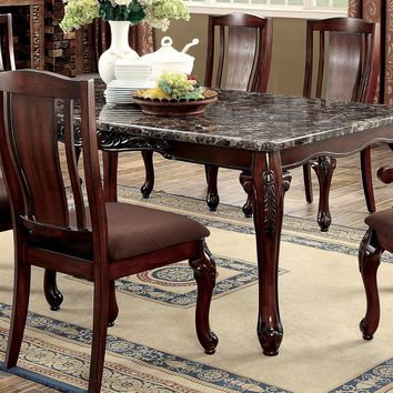 Hallie Transitional Dining Table