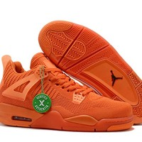 Air Jordan 4 Weave Orange Size 40-47