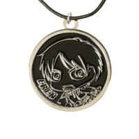 Attack On Titan Eren Medallion Cord Necklace