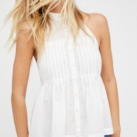 Free People Take It Easy Solid Halter