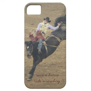 Save a horse, ride a cowboy! iPhone5 case iPhone 5 Cases from Zazzle.com
