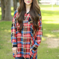 The Good and the Plaid Top