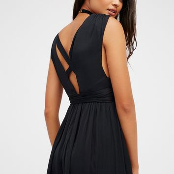 Free People Nara Midi Dress