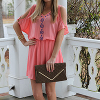 Change Of Heart Dress, Pink