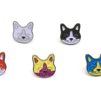 Mini Kitty Kat Hat Pin