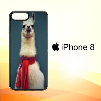Animal Llama V0256 iPhone 8 Case