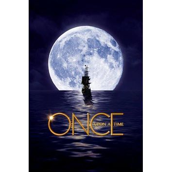 once upon a time poster Metal Sign Wall Art 8in x 12in