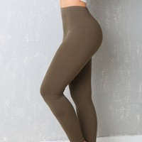 My Favorite  Leggings Ever  Olive