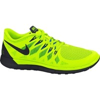 Nike Men's Free 5.0 Running Shoe - Volt/Black | DICK'S Sporting Goods