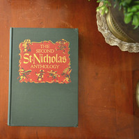 Vintage St Nicholas Book The Second St Nicholas Anthology Book Fairy Tales Myths Young Adult Books