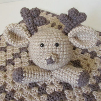Deer Lovey PDF Crochet Pattern INSTANT DOWNLOAD