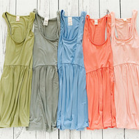 Gather Round Peplum Tank