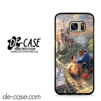 Romantic Beauty And The Beast In Their Castle DEAL-9312 Samsung Phonecase Cover For Samsung Galaxy S7 / S7 Edge