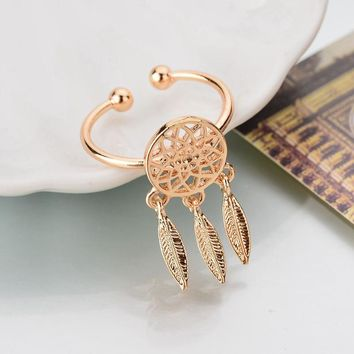Accessory Stylish Hollow Out Feather Dream Catcher [10985351175]