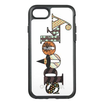 Spooky - Halloween Decorated Lettering OtterBox Symmetry iPhone 7 Case