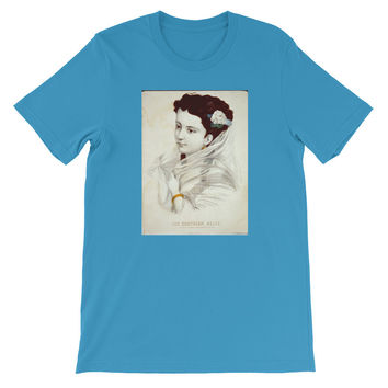 Southern Belle Historic Print T-shirt