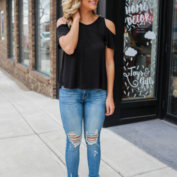 Out for Fun Top - Black