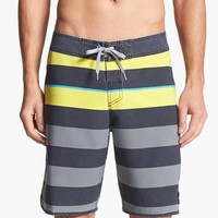 Quiksilver 'Cypher Briggs' Scalloped Board Shorts