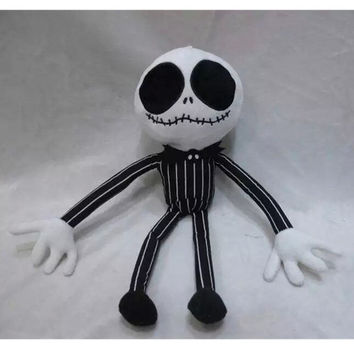 "The Nightmare Before Christmas Jack Skellington 14"" Soft Plush Toy Doll Gift Alternative Measures"