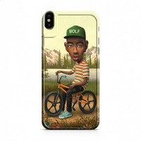 Odd Future tyler bike paint iPhone X case