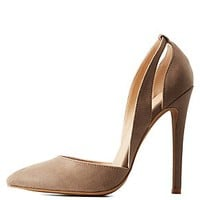 CUT-OUT D'ORSAY PUMPS