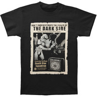 Star Wars Men's  Don't Underestimate T-shirt Black Rockabilia