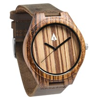 Wooden Watch // Zebrawood 47