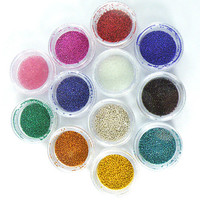 12 Colors Mini Beads Pearls Nail Art Tips Decoration - US$3.29 sold out - Banggood Mobile