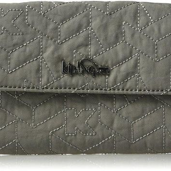 ONETOW Kipling Cash Solid Quilted Wallet Wallet