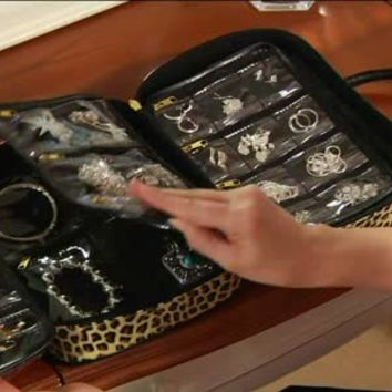 Gold & Silver Safekeeper Jewelry Case by Lori Greiner - H164598 — QVC.com