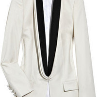 Stella McCartney|Wool-twill tuxedo jacket|NET-A-PORTER.COM