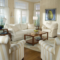Living room scenes - beach style - sofas - charlotte - Huntington House Furniture