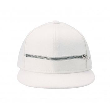 Zipped Cap White - BALR.