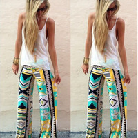 Hot Sale Print Women's Fashion Pants [6338686404]