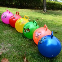 Kids Cartoon Jumping Inflatable Stress Bouncing Ball Toys