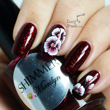 Shimmer Nail Polish  Marilyn by ShimmerPolish on Etsy