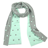 Cashmere Polka Dot Double Layer Scarf