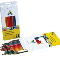 Colored Pencils - 24 Pack