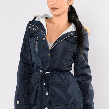 Weekend In The Woods Jacket - Navy