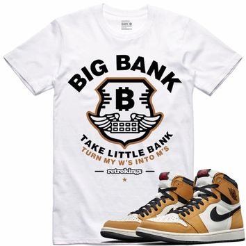Air Jordan 1 Rookie of the Year Sneaker Tees Shirt - BIG BANK RK