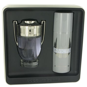 Invictus Cologne by Paco Rabanne 3.4 oz Eau De Toilette Spray and 5.1 oz Deodorant Spray