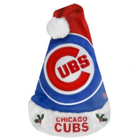 Chicago Cubs Santa Hat - 2011 Colorblock Design