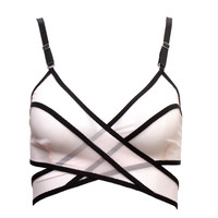 Juana Wrap Bra in Pink