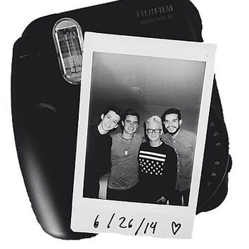 Tyler Oakley, Troye Sivan, Connor Franta, and Korey Kuhl - Polaroid