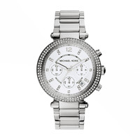 MICHAEL KORS WATCH  WOMEN SPORT PARKER STAINLESS STEEL MK5353