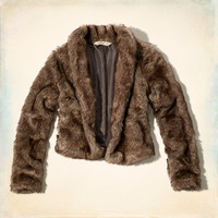 Marina Park Faux Fur Jacket