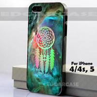 Dreamcatcher with Nebula - Photo on Hard Cover - For iPhone Case ( Select An Option )