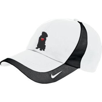 """My Heart"" Golden Retriever Nike Colorblock Cap"