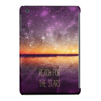 Violet Stars And Sunset Lake iPad Mini Case